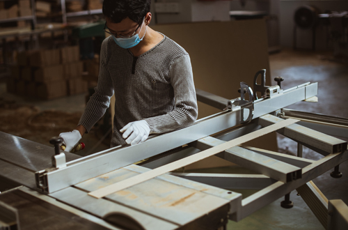 Production Process-Step 1-Cutting Wood Boards-3 | Zoser