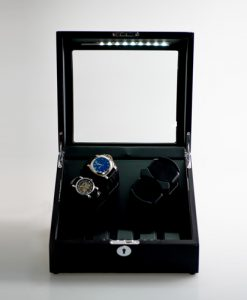 Double Watch Winder-031-1BB-D-F-9-open1 | Zoser