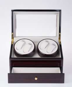 Double Watch Winder-90722EG-9-open1 | Zoser
