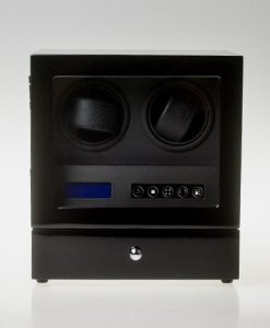 Double Watch Winder-S202-LB | Zoser
