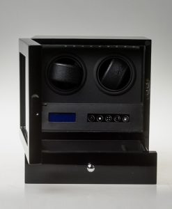 Double Watch Winder-S202-LB-open1 | Zoser