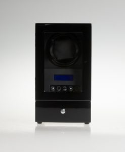 Single Watch Winder-S2101BB | Zoser