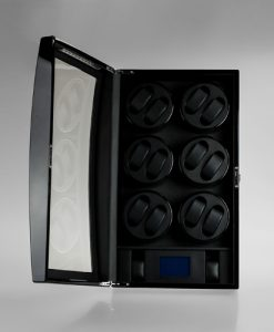Cabinet Watch Winder-088-6BB-T-open1 | Zoser