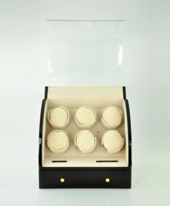 Cabinet Watch Winder-326EC-D-open1 | Zoser