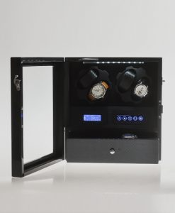 Double Watch Winder-X205TC-open1 | Zoser