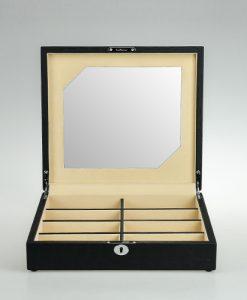 Leather Glasses Box-G011BCC-L   Zoser