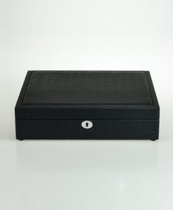 Leather Glasses Box-G011BCC-L-close1 | Zoser