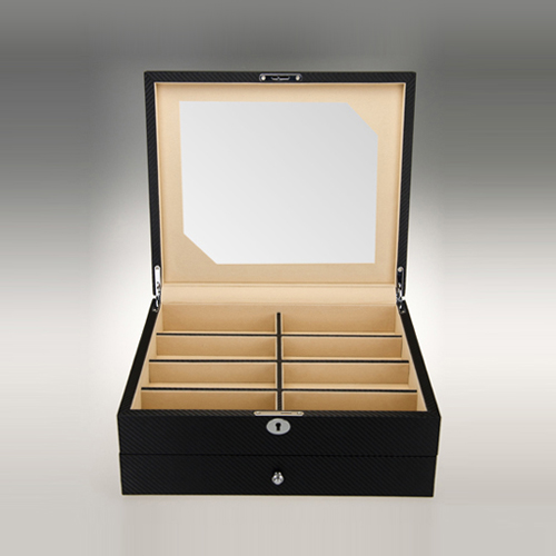 Leather Glasses Box-G012-L-Zoser