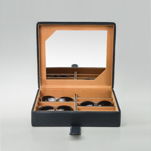 Leather Glasses Box-PG207-BL-Zoser