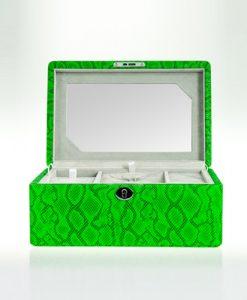 Leather Jewelry Box-503GPG-L | Zoser