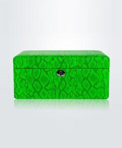 Leather Jewelry Box-503GPG-L-close1 | Zoser