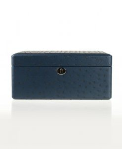 Leather Jewelry Box-503ODB-L-close1 | Zoser