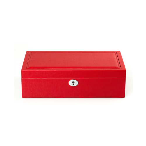 Leather Jewelry Box-PG204RC-Zoser