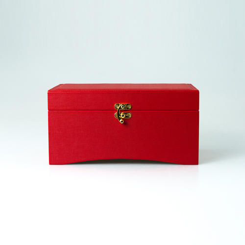 Leather Jewelry Box-PG205RR-Zoser