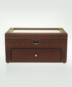 Leather Watch Box-10+12MBrC | Zoser