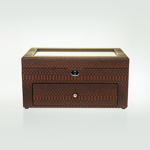Leather Watch Box-10+12MBrC-Zoser