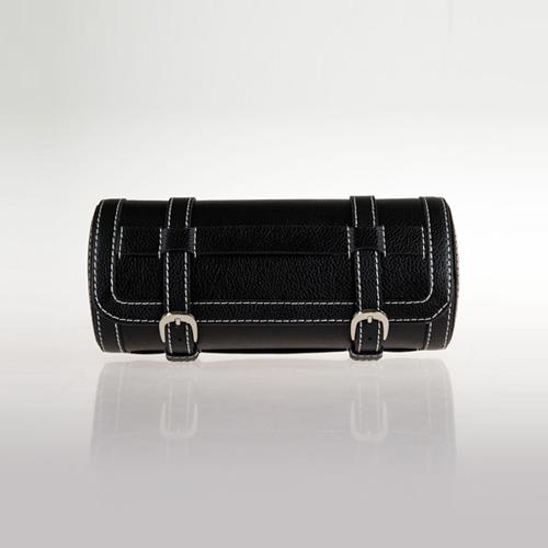 Leather Watch Box-3W-SP-B-Zoser