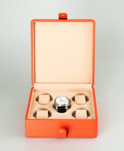 Leather Watch Box-5W-RLC | Zoser