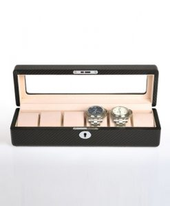 Leather Watch Box-6W-KC | Zoser