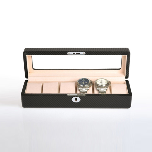 Leather Watch Box-6W-KC-Zoser
