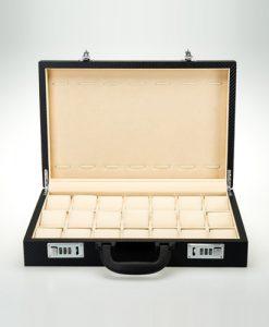 Leather Watch Box-901CC-L | Zoser