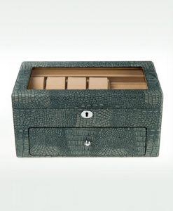 Leather Watch Box-Watch Box-10+8MGC | Zoser