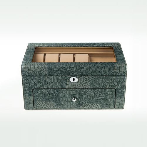 Leather Watch Box-Watch Box-10+8MGC-Zoser