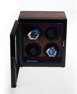 Quad Watch Winder-341S-DBC-DF-open1 | Zoser