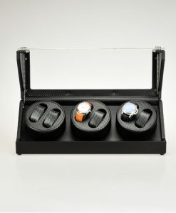 Triple Watch Winder-1023PU-D-F-5-open1 |Zoser