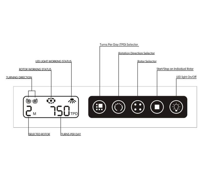 Watch-Winder-Controller-Touch-Keyboard-LCD | Zoser