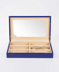 Wooden Glasses Box-G106-BLC | Zoser