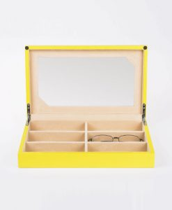 Wooden Glasses Box-G106-YC | Zoser