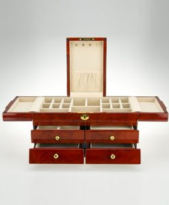 Wooden Jewelry Box-TG503DBC | Zoser