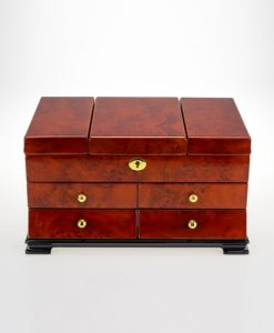 Wooden Jewelry Box-TG503DBC-close1 | Zoser