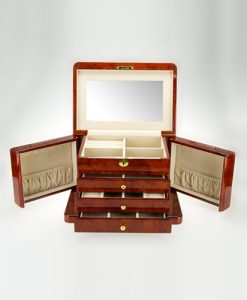 Wooden Jewelry Box-TG504DBC | Zoser