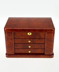 Wooden Jewelry Box-TG504DBC-close | Zoser