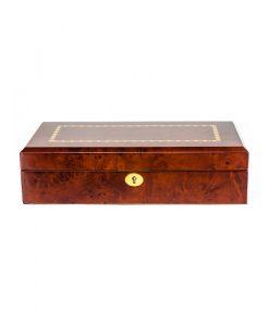 Wooden Watch Box-803-12DBC | Zoser