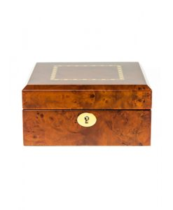 Wooden Watch Box-803-6DBC-close1 | Zoser