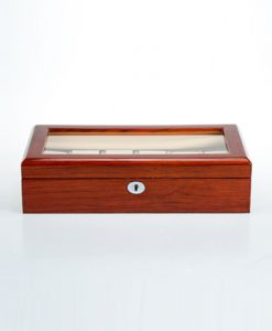 Wooden Watch Box-804-12RWC | Zoser