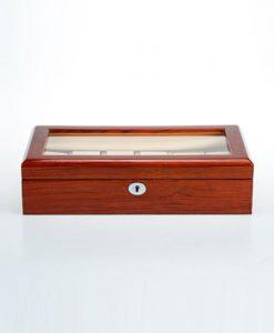 Wooden Watch Box-804-12RWC | Zoser