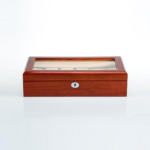 Wooden Watch Box-804-12RWC-Zoser