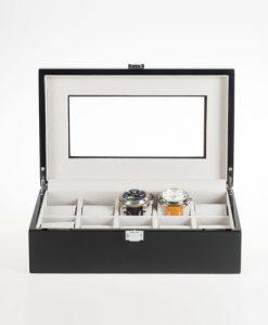Wooden Watch Box-JW49BG-open1   Zoser