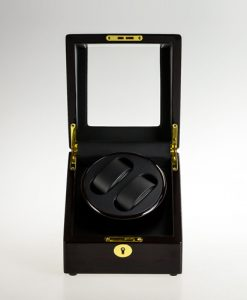 Single Watch Winder-1051EB-F-9-open1 | Zoser