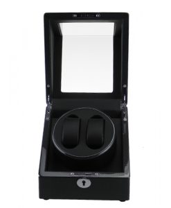 Single Watch Winder-1051TB-9-open1 | Zoser