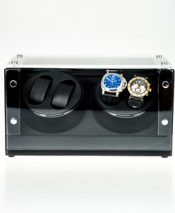 Double Watch Winder-1022BB-5 | Zoser