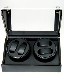 Double Watch Winder-1022BB-5-open1 | Zoser