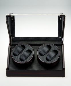Double Watch Winder-1022EC-5-open1 | Zoser