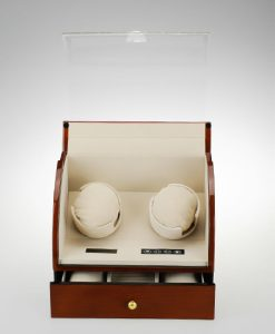 Double Watch Winder-90322DMC-open1 | Zoser